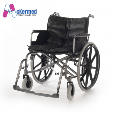 Ackermed Heavy Duty Extra wide foldable wheelchair (In-Store)
