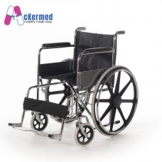 Ackermed 18 inch Standard Steel Wheelchair (Mag Wheel)