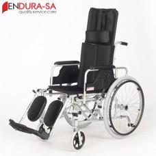 "Endura Alulux Recliner Wheelchair 18""-46cm"
